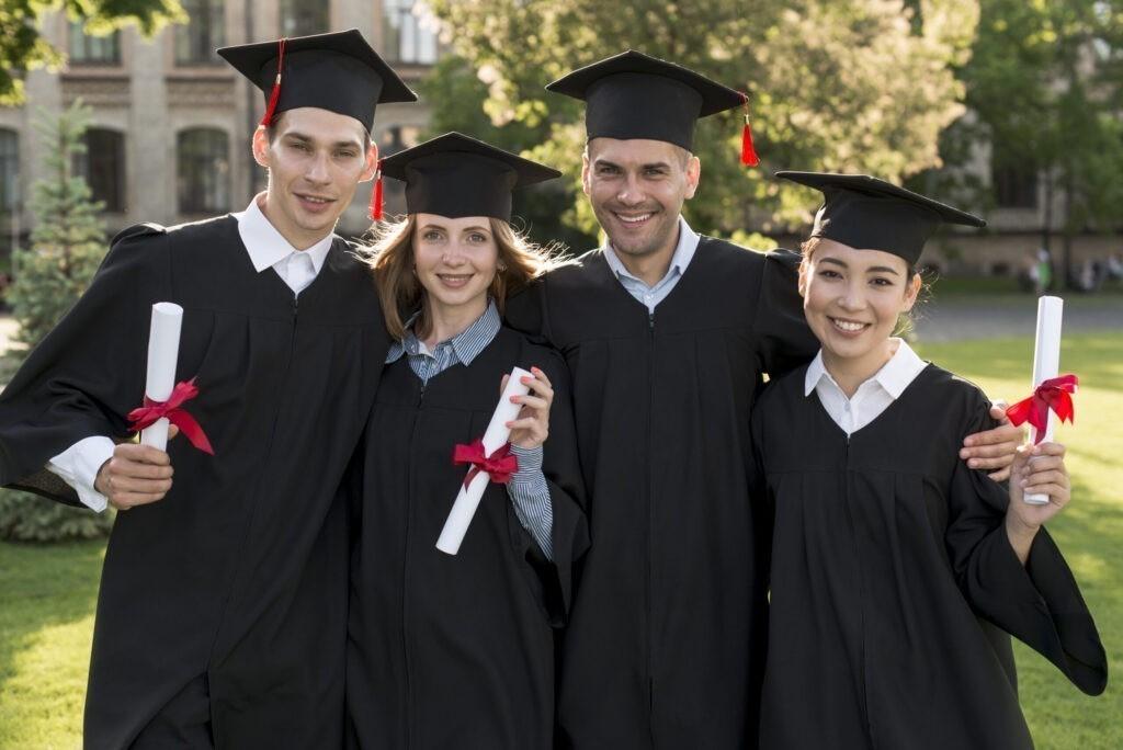 portrait-group-students-celebrating-their-graduation